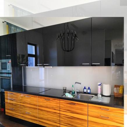 фартух на кухню зі скла фото, скіналі фото, скляний фартух на кухню фото, кухонний фартух фото 17915