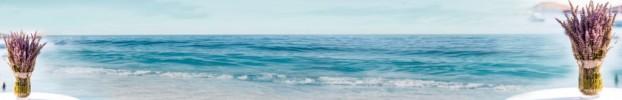 1703202011 кухонный фартук Скинали: Море, фартук для кухни Скинали: Море, стеклянный фартук Скинали: Море, фартук на кухню Скинали: Море