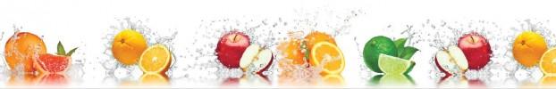 240620206 кухонный фартук Скинали фрукты, фартук для кухни Скинали фрукты, стеклянный фартук Скинали фрукты, фартук на кухню Скинали фрукты