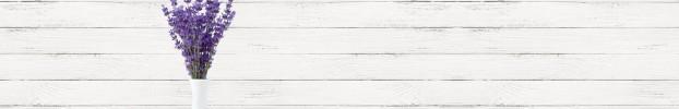 16166 кухонный фартук Скинали лаванда, фартук для кухни Скинали лаванда, стеклянный фартук Скинали лаванда, фартук на кухню Скинали лаванда