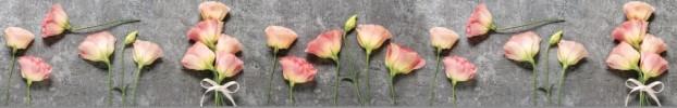 170320205 кухонный фартук Скинали Цветы, фартук для кухни Скинали Цветы, стеклянный фартук Скинали Цветы, фартук на кухню Скинали Цветы