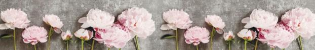 220720216 кухонный фартук Скинали Цветы, фартук для кухни Скинали Цветы, стеклянный фартук Скинали Цветы, фартук на кухню Скинали Цветы