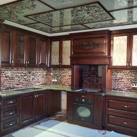 фартук на кухню из стекла фото, скинали фото, стеклянный фартук на кухню фото, кухонный фартук фото 17914