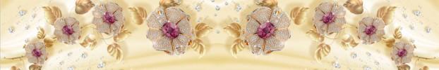 290620207 кухонный фартук Скинали бриллианты, фартук для кухни Скинали бриллианты, стеклянный фартук Скинали бриллианты, фартук на кухню Скинали бриллианты