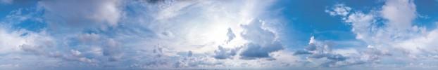 2110201915 кухонный фартук Скинали Небо, фартук для кухни Скинали Небо, стеклянный фартук Скинали Небо, фартук на кухню Скинали Небо