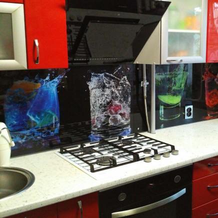 фартук на кухню из стекла фото, скинали фото, стеклянный фартук на кухню фото, кухонный фартук фото 18349
