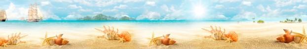 5891 кухонний фартухСкіналі: Морська тематика, фартух для кухніСкіналі: Морська тематика, скляний фартухСкіналі: Морська тематика, фартух на кухнюСкіналі: Морська тематика