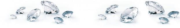070720219 кухонный фартук Скинали бриллианты, фартук для кухни Скинали бриллианты, стеклянный фартук Скинали бриллианты, фартук на кухню Скинали бриллианты
