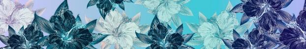 6044 кухонный фартук Скинали Цветы, фартук для кухни Скинали Цветы, стеклянный фартук Скинали Цветы, фартук на кухню Скинали Цветы