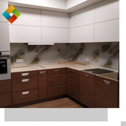 фартук на кухню из стекла фото, скинали фото, стеклянный фартук на кухню фото, кухонный фартук фото 211020192