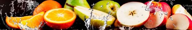 1310202017 кухонный фартук Скинали фрукты, фартук для кухни Скинали фрукты, стеклянный фартук Скинали фрукты, фартук на кухню Скинали фрукты