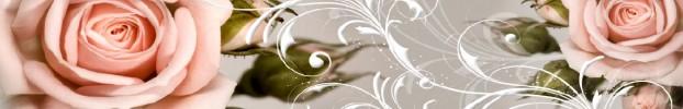 280720217 кухонный фартук Скинали Цветы, фартук для кухни Скинали Цветы, стеклянный фартук Скинали Цветы, фартук на кухню Скинали Цветы