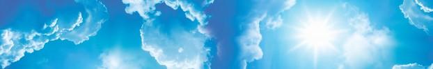 2019 кухонный фартук Скинали Небо, фартук для кухни Скинали Небо, стеклянный фартук Скинали Небо, фартук на кухню Скинали Небо