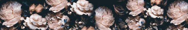 0907202131 кухонный фартук Скинали Цветы, фартук для кухни Скинали Цветы, стеклянный фартук Скинали Цветы, фартук на кухню Скинали Цветы