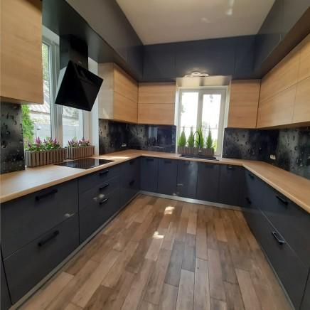 фартух на кухню зі скла фото, скіналі фото, скляний фартух на кухню фото, кухонний фартух фото 4352