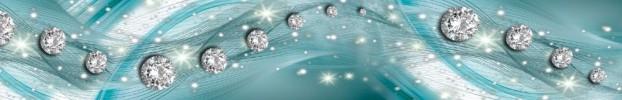 120120201 кухонный фартук Скинали бриллианты, фартук для кухни Скинали бриллианты, стеклянный фартук Скинали бриллианты, фартук на кухню Скинали бриллианты