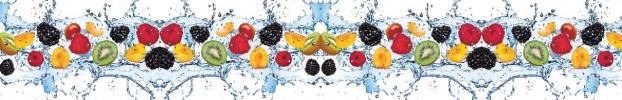 140420209 кухонный фартук Скинали фрукты, фартук для кухни Скинали фрукты, стеклянный фартук Скинали фрукты, фартук на кухню Скинали фрукты