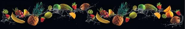 140420208 кухонный фартук Скинали фрукты, фартук для кухни Скинали фрукты, стеклянный фартук Скинали фрукты, фартук на кухню Скинали фрукты
