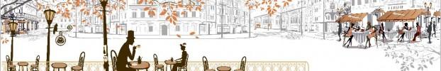 8020 кухонный фартук Скинали Старый город, фартук для кухни Скинали Старый город, стеклянный фартук Скинали Старый город, фартук на кухню Скинали Старый город
