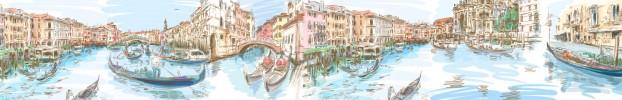 18334 кухонний фартухСкіналі Венеція, фартух для кухніСкіналі Венеція, скляний фартухСкіналі Венеція, фартух на кухнюСкіналі Венеція