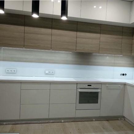 фартух на кухню зі скла фото, скіналі фото, скляний фартух на кухню фото, кухонний фартух фото 16228